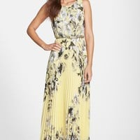 Women's Eliza J Print Chiffon Maxi Dress