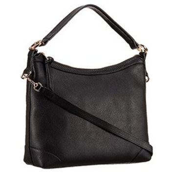 Gucci Miss GG Leather Hobo Black