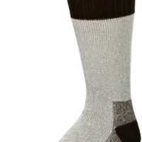 Dickies Men's 2 Pack High Bulk Acrylic Thermal Boot Crew Socks