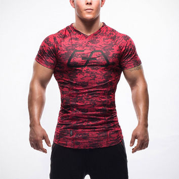 Fitness Quick Dry Stretch T-shirt