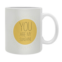 Allyson Johnson You Really Are My Sunshine Coffee Mug