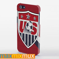 USA Soccer iPhone 4/4S, 5/5S, 5C Series Full Wrap Case