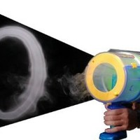 Mighty Blaster: Toroidal Emitter - Blast Huge Vapor Rings up to 20 Feet Away!