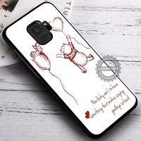 BFF Quote Winnie The Pooh Gift iPhone X 8 7 Plus 6s Cases Samsung Galaxy S9 S8 Plus S7 edge NOTE 8 Covers #SamsungS9 #iphoneX