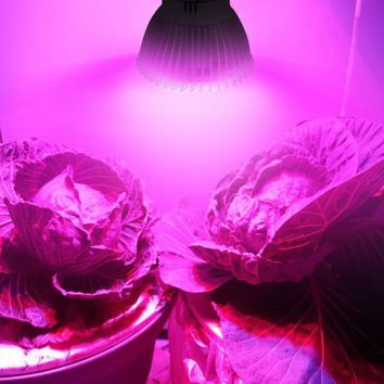 28 LED E14 E27 GU10 AC 85~265V 28W Grow Lights for Hydroponics Flowers RZ01