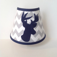 Woodland Deer Head Silhouette Night Light