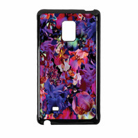 Lush Floral Pattern Beaming Orchid Purple Samsung Galaxy Note Edge Case