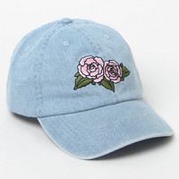 LA Hearts Floral Denim Dad Hat at PacSun.com