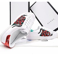 shosouvenir:Gucci:Trending Fashion Casual Sports Shoes