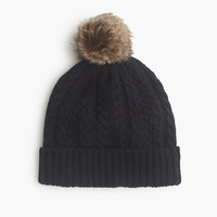 J.Crew Womens Cable Hat