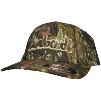 Curved Bill Treelogo Outline Mossy Oak Break Up Flex Hat