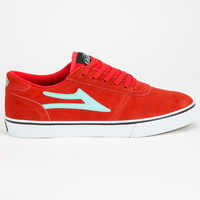 Lakai Manchester Mens Shoes Red  In Sizes