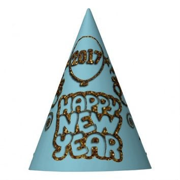 Cheers To The New Year 2017 PARTY HATS