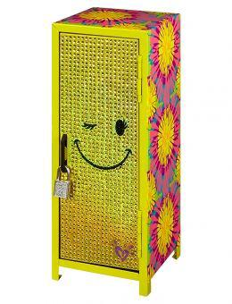 Bling smile mini locker girls room from justice for Room decor justice