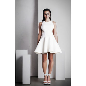 Lexi Clothing 'Calypso' Short Dress in White