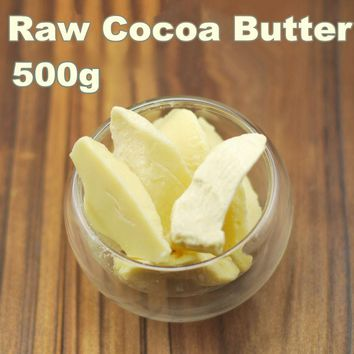 Raw Cocoa Butter Base Oil Exquisite Natural ORGANIC Unrefined 500g