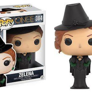 Funko Pop TV: Once Upon a Time - Zelena Vinyl Figure