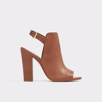 Noassa Medium Brown Women's Casual heels | ALDO Canada