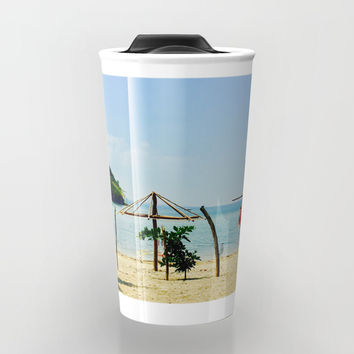 Beachfront Travel Mug by Jenna C.