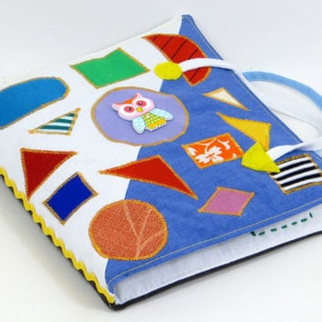 Quiet book Busy book Quite book toddler quiet book Sensory Toddler busy book Montessori Activity book Baby soft book Fabric activity book