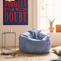 Large Microsuede Bean Bag Chair | Urban Outfitters