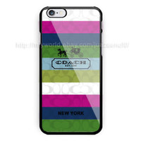New Hot Best Coach Rainbow New York Case Cover iPhone 6/6s/6s+/7/7+/8/8+ Samsung