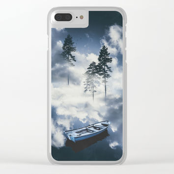 Forest sailing Clear iPhone Case by happymelvin