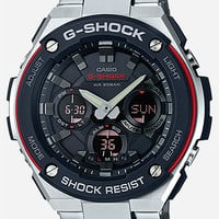 G-Shock Gsts100d-1A4 Watch Black/Silver One Size For Men 27030414501