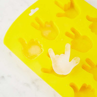 Hand Sign Ice Cube Mold | Urban Outfitters