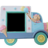 Ice Cream Truck Teddy Bear Picture Frame Children's Tabletop Frame
