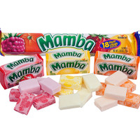 Mamba Fruit Chews Candy Bars - Original: 24-Piece Box