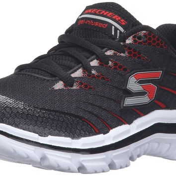 Skechers Kids Nitrate Sneaker (Little Kid/Big Kid/Toddler) Black/Red Little Kid (4-8 Years) 12.5 M US Little Kid '