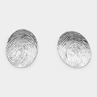 Thumbprint Earrings | MoMA Store