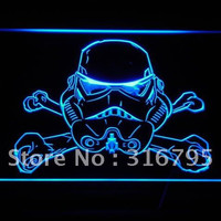 Strom Trooper LED Sign