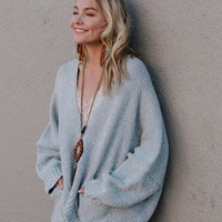 Christine Sweater Cardigan - Gray
