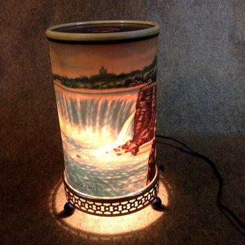 Mid-Century Niagra Falls Motion Lamp - Econolite 1955 - Working - Complete -  Fantastic Find!