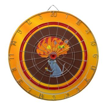Cat & Mouse Dart Board