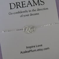 Sister Jewelry// Mother Daughter Jewelry // Inspirational Jewelry// Goddaughter // Graduation Gift // Granddaughter // Best Friend Necklace