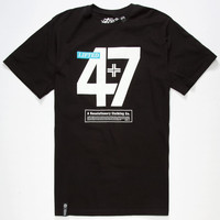Lrg Lifted 47 Mens T-Shirt Black  In Sizes