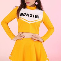 Team Monster Cheer Set in Yellow Mustard