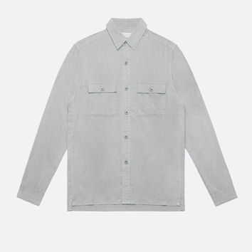 Tencel Button-Down / Plaster