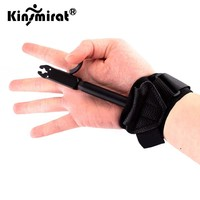 Hunting Archery Release Compound Bow Caliper Aid Strap Shooting Pro Arrow Trigger Wristband bow and arrow Accessories