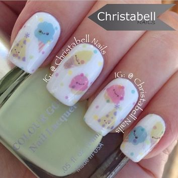 Cotton Candy Decals