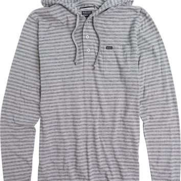 RVCA HEATHER HOODED HENLEY
