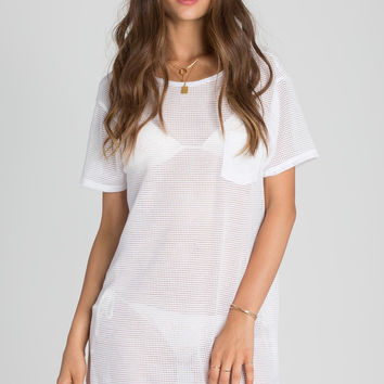 Billabong - Don't Mesh Around Cover Up Dress | Cool Whip
