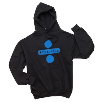 "Ed Sheeran ""Ed Sheeran & Divide Logos"" Unisex Adult Hoodie Sweatshirt"