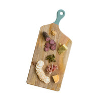 Mint & Wood Cutting Board