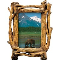 Tree Trunk Deluxe Sportsman's Picture Frame : Cabela's