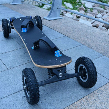 Electric Longboard Scooter Skateboard w/ Double motor power : 1000 w * 2