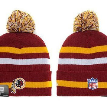 ESB8KY Washington Redskins Beanies New Era NFL Football Hat